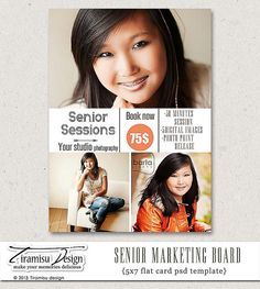 Instant 5x7 Senior Photography By Tiramisudesign On Etsy 7 50 Packaging Advertising