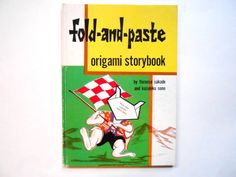 Fold and Paste Origami Storybook a Vintage by lizandjaybooksnmore, $20.00
