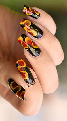NAIL ART ONE STROKE RUBAN 9