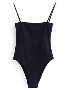 $13 Camisole Bodysuit - BLACK M
