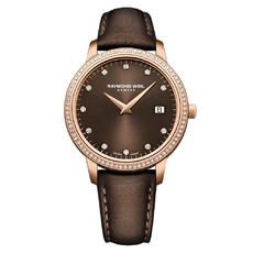 Auction target: $50.23 | RAYMOND WEIL TOCCATA NICOLA BENEDETTI ROSE GOLD PLATED DIAMOND LADIES WATCH