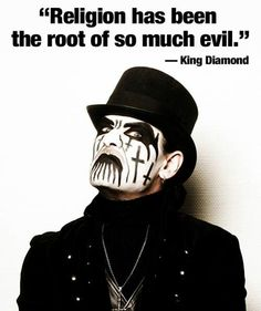 Right said, King Diamond!!! : )