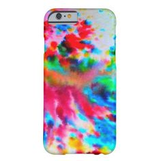 Colorful Rainbow iPhone Case Barely There iPhone 6 Case