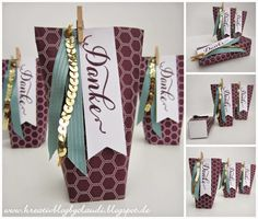. Kreativ Blog by Claudi: Verpackung