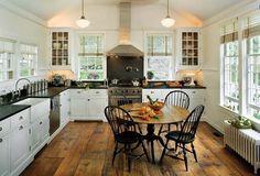 Cottage Style Kitchens   ... Fat Hydrangea: Kitchen Week: Wonderful White Cottage-Style Kitchens