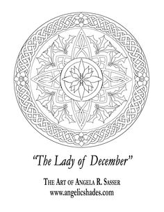 Lady of December's Window by AngelaSasser.deviantart.com on @DeviantArt