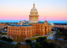 Texas State Capital - beautiful pink granite