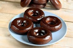 Chocolate donuts, gluten and dairy free