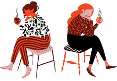 Work from one of my favorite illustrators Karolin Schnoor