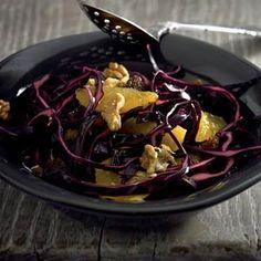 Recept - Rodekoolsalade met honingdressing - Allerhande