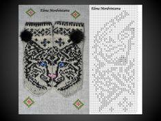 "Вязание. Жаккард - ""Зимняя радуга"" | VK Knitted Mittens Pattern, Fair Isle Knitting Patterns, Knit Mittens, Knitting Charts, Knitting Socks, Mitten Gloves, Baby Knitting, Wrist Warmers, Stuffed Animal Patterns"