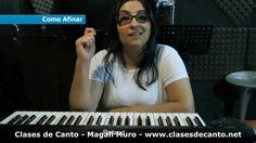 Clases de canto Magali Muro Tecnica vocal Como afinar la voz