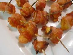 Gluten Free Appetizer - Honey Chicken Bacon
