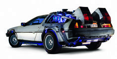 See Back to the Future DeLorean at RCX!