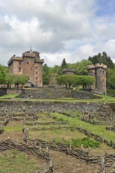 Deborah Harkness's Sept-Tours Inspiration  Chateau Dauphin, Pontgibaud. From The Guide Touristique France.