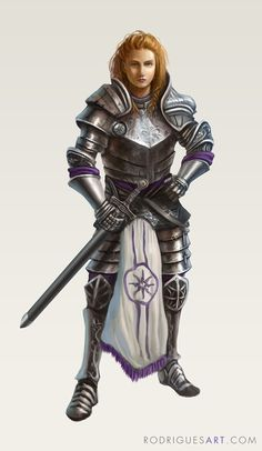 f Fighter Plate Armor Sword midlvl