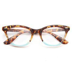 ff605fc48fb Clear Cat Eye Glasses - Special Edition Emma Ombre Cat Eye Clear Glasses –  CosmicEyewear Fashion