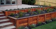 Garden Edging Sleepers Hardwood | Building Materials | Gumtree ...