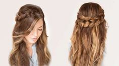 Braided wreath hairstyle for long hair :: one1lady.com :: #hair #hairs #hairstyle #hairstyles