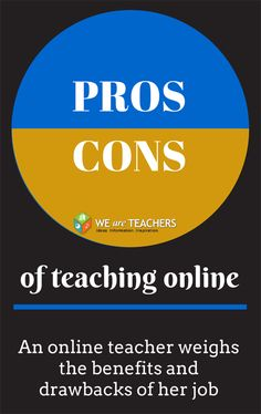 We Are Teachers_Pros and Cons of Online Teaching