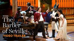 Rossini's music sparkles with one hit tune after another in this happily-ever-after comedy starring Nathan Gunn, Isabel Leonard, and Alek Shrader, directed b. The Barber Of Seville, Lyric Opera, Video Trailer, Crochet Blanket Patterns, Cot, Happily Ever After, Toronto, Comedy, Lyrics