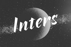 Inters typeface   @creativework247