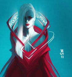 Palette 012 by exellero on DeviantArt Fantasy Character Design, Character Design Inspiration, Character Concept, Character Art, Concept Art, Fantasy Characters, Female Characters, Cyberpunk, Psy Art