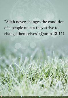 Change yourself, to change your life