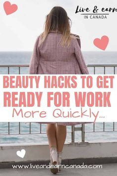 Beauty hacks for women! Here are a few easy beauty hacks every girl should know about to get ready for work faster. Diy Makeup Makeup Tricks Beauty Tricks Diy Beauty Beauty Ideas Beauty Tips For Teens Beauty Life Hacks Makeup Stuff Beauty Advice