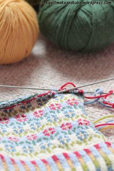 Colourful Knitting Pattern