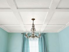 How to Build a Coffered Ceiling - This Old House - YouTube