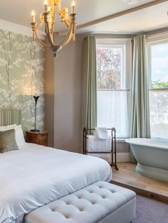 As a refreshing antidote to the corporate hotel experience, the Town House, part of the independent Peach Pub Company, feels like an exclusive home. Guests are provided with digital entry codes for the front door and bedrooms. The listed building's original 1860s' features have been retained, complemented by antique walnut and mahogany furniture. The muted aqua and grey colour scheme is enlivened by bright fabrics and hand-painted English wallpaper. Mahogany Furniture, Gray Color, Colour, Listed Building, Unique Hotels, Town House, Beautiful Bedrooms, Color Schemes, Feels
