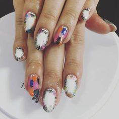 22 pretty Spring acrylic nail styles 2018