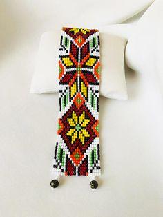 Ukrainian Bracelet Ukrainian Bead Loom Bracelet Ukraine Bead