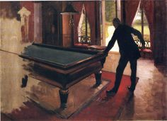 Billiards - Gustave Caillebotte - WikiPaintings.org
