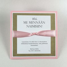 The impressive invitation card is made of various cartons and a wide satin ribbon. Easy to change colors. Perfect Wedding, Our Wedding, Dream Wedding, Invitation Cards, Wedding Invitations, Wedding Prints, Purple Wedding, Wedding Accessories, Save The Date