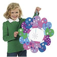 Mitten Wreath or just the mittens are. cute all by themselves.  Could use for patterning, counting by two's etc.