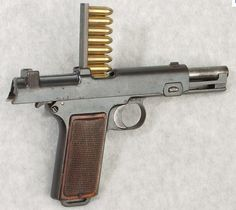 Steyr 1911/1912. Ok. It's not your standard 1911. But I thought it was worth sharing. Very cool to see fire.