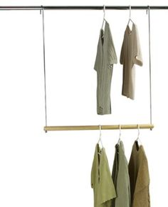 Double Hang Commercial Grade Closet Rod To Double Your Closet Space In Tiny  Dorm Closets | Future// College | Pinterest | Closet Rod, Commercial And  Dorm