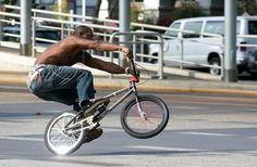 Trickbike til photo-shoot
