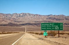 Death Valley Pictures. Scenic photos of Death Valley National Park.