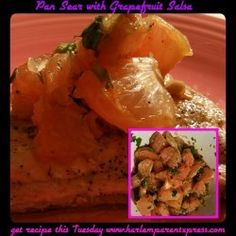 Who knew grapefruit can be used in so many different ways. I was pleasantly surprised at this recipe. Delicious and healthy is a winner in my household.
