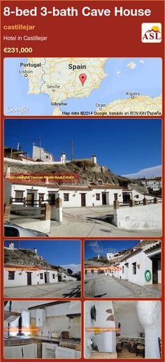 8-bed 3-bath Cave House in castillejar ►€231,000 #PropertyForSaleInSpain