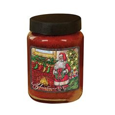 Lang Christmas Eve Jar Candle by Tim Coffey 26 oz Burns 120140 hours 3100023 -- Visit the image link more details.