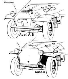 Sdkfz 251 variantes A-B-C (Avant)
