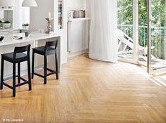 carrelage imitation parquet en point d 39 hongrie carrelage pinterest. Black Bedroom Furniture Sets. Home Design Ideas