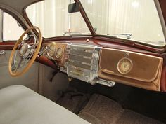 http://Papr.Club - Another cool link is LowCostCarTransport.com  1941 Buick Special Dash View
