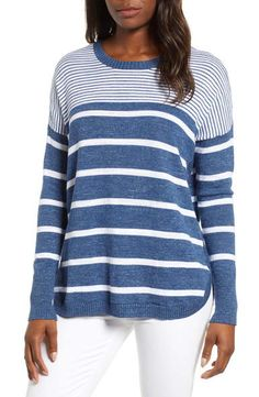 Nantucket Outfits: Everything to Pack for Summer in Nantucket Nantucket Massachusetts, Cotton Sweater, Vineyard Vines, What To Wear, Nordstrom, Sporty, Stripes, Pullover, Knitting