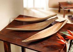 Deko-Schalen aus getrocknetem Kokospalmenblatt, natürliche Farbgebung und Schattierung - Wohnaccessoires JETZT bestellen!