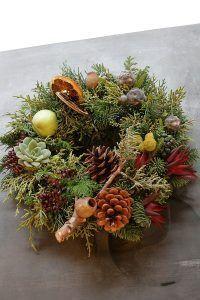 Fresh Christmas Wreath 07